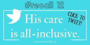 #recall 12 October tweet 1