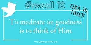 #recall12 August Tweet 2