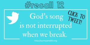 #recall12 July Tweet 2
