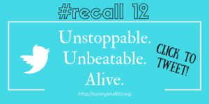 #recall12 June Tweet 2