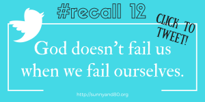 #recall12 October tweet 2
